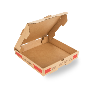 Custom Printed Cardboard Pizza Packaging Boxes