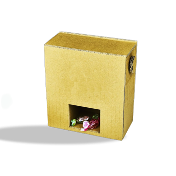 Custom Printed Dispenser Corrugated Packaging Boxes