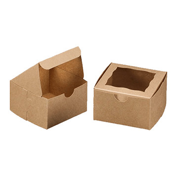 Custom Brown Bakery Boxes