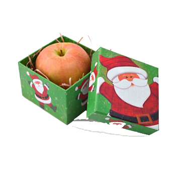 Custom Christmas Apple Boxes