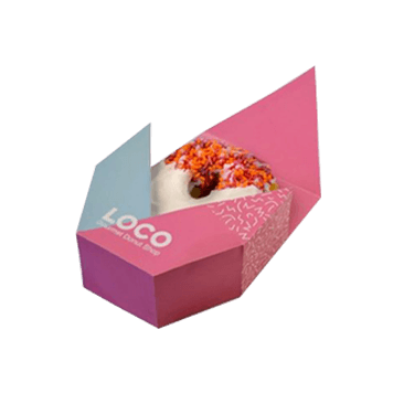Custom Printed Donut Packaging Boxes