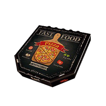 custom unique shaped pizza box