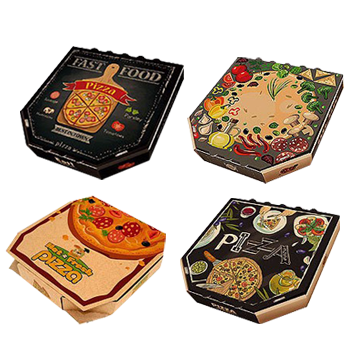 custom unique shaped pizza boxes