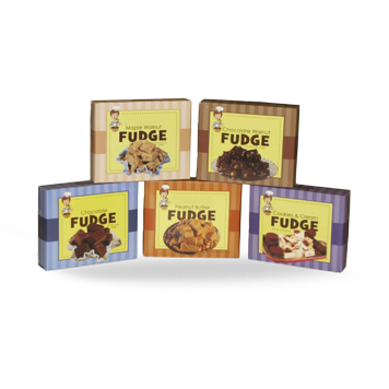 Custom Printed Fudge Packaging Boxes