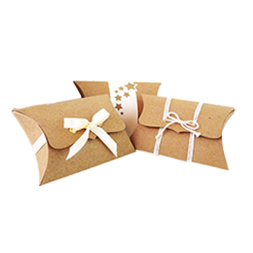 kraft paper pillow soap boxes