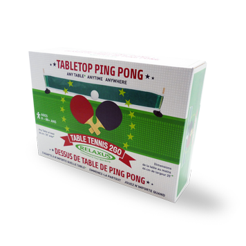 Custom Printed Ping Pong Packaging Boxes