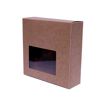 Custom Kraft Window Packaging Boxes